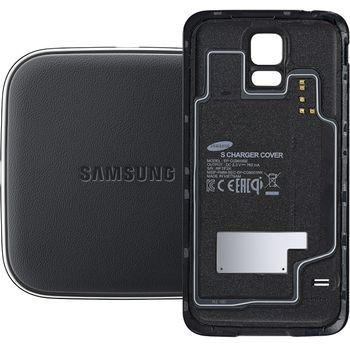 Samsung sada pro bezdrátové nabíjení EP-WG900IB černá + PanzerGlass sklo pro Samsung Galaxy S5