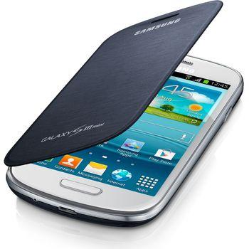 Samsung flipové pouzdro EFC-1M7FB pro Galaxy S III mini (i8190), modrá