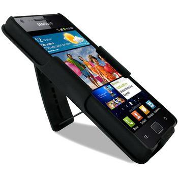 PURO pouzdro se stojánkem pro Samsung Galaxy i9100 S2 - černá