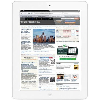 Apple iPad s Retina displejem Wi-Fi 32GB bílý + Tivizen HDTV tuner