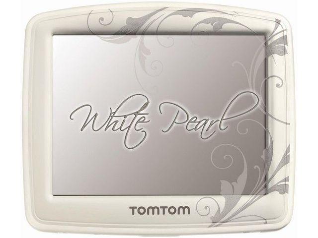 obsah balení TomTom XL IRQ Europe + pro ženu TomTom White Pearl Europe 42