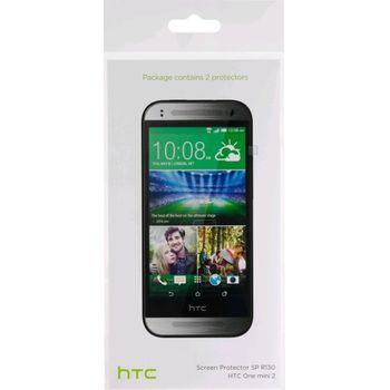 HTC ochranná fólie na displej SP R130 pro HTC One mini 2 (2 ks)